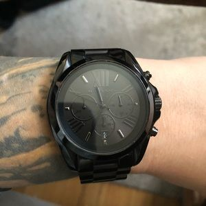 All black Michael Kors Watch